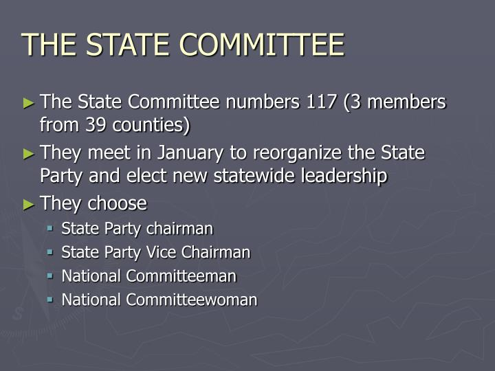 THE STATE COMMITTEE
