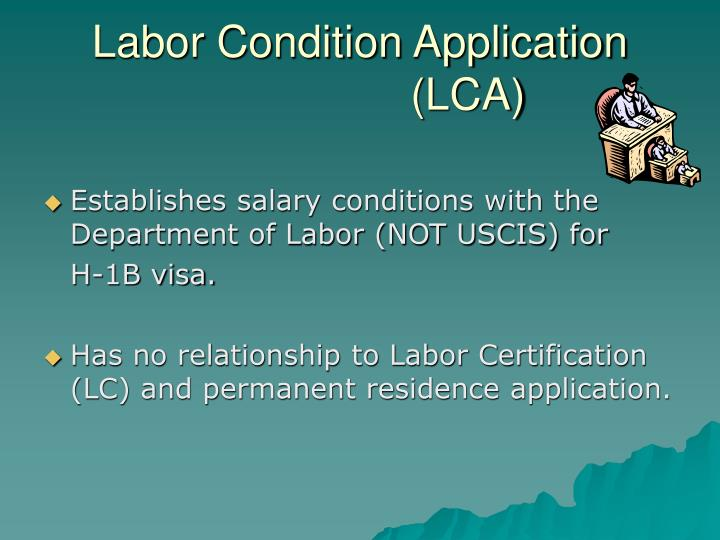 Labor Condition Application
