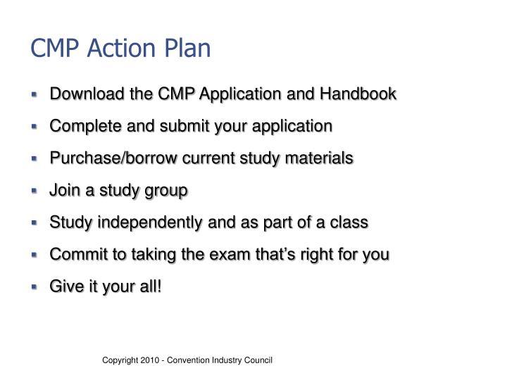 CMP Action Plan