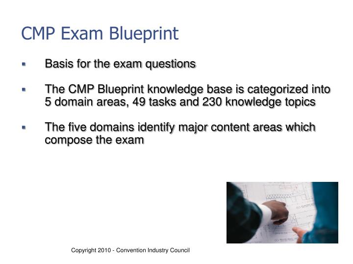 CMP Exam Blueprint