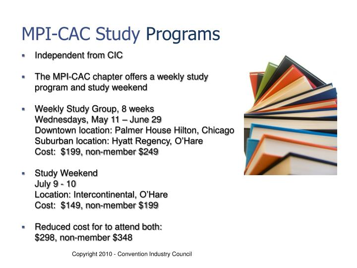 MPI-CAC Study