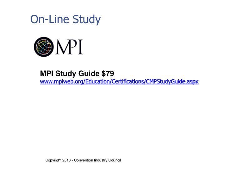 On-Line Study