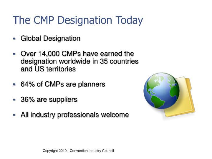 The CMP Designation Today