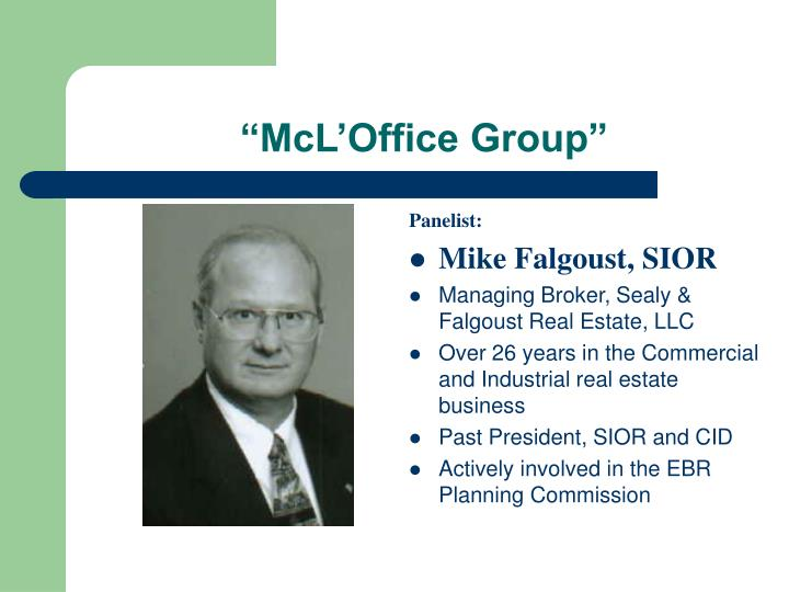 """""""McL'Office Group"""""""