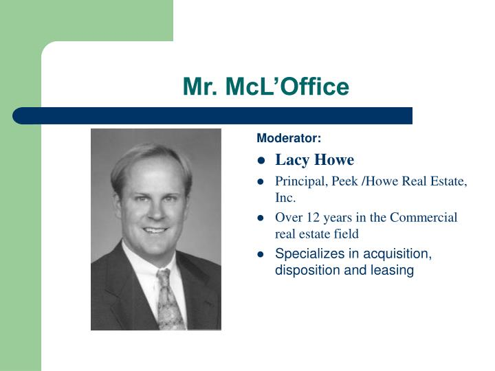 Mr. McL'Office