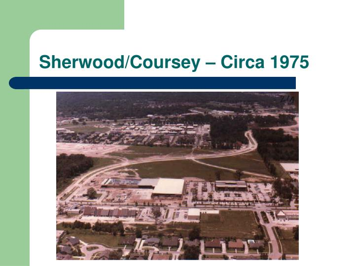 Sherwood/Coursey – Circa 1975