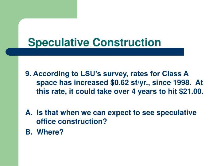 Speculative Construction