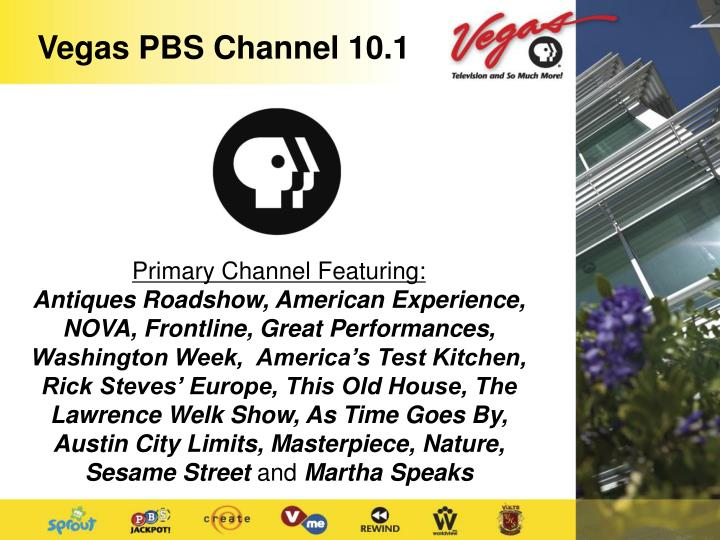 Vegas PBS Channel 10.1