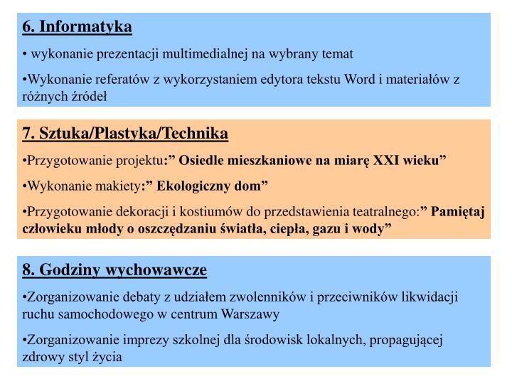 6. Informatyka