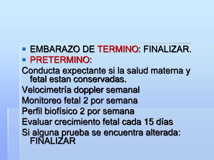 EMBARAZO DE