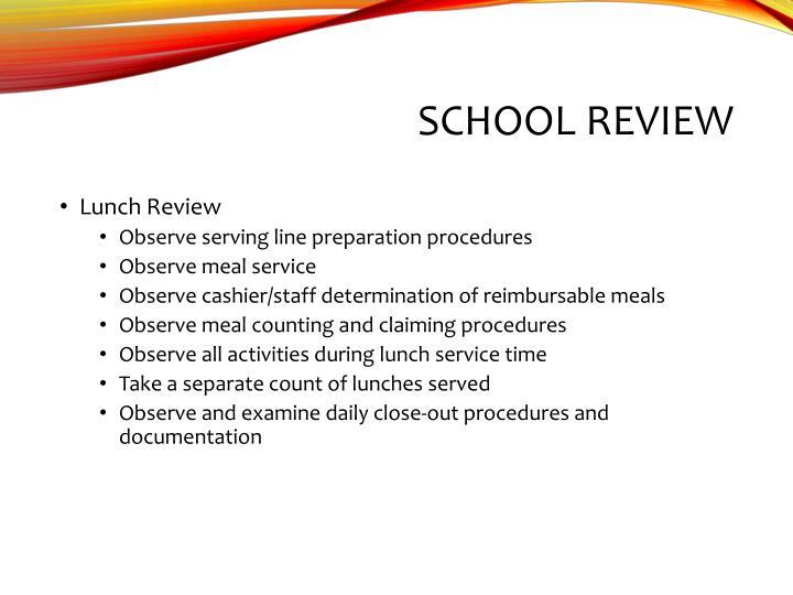 School Review