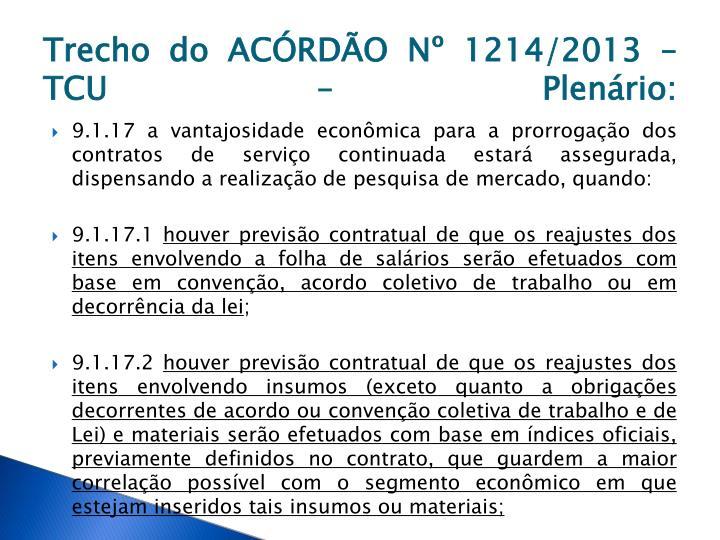 Trecho do ACÓRDÃO Nº 1214/2013 – TCU – Plenário: