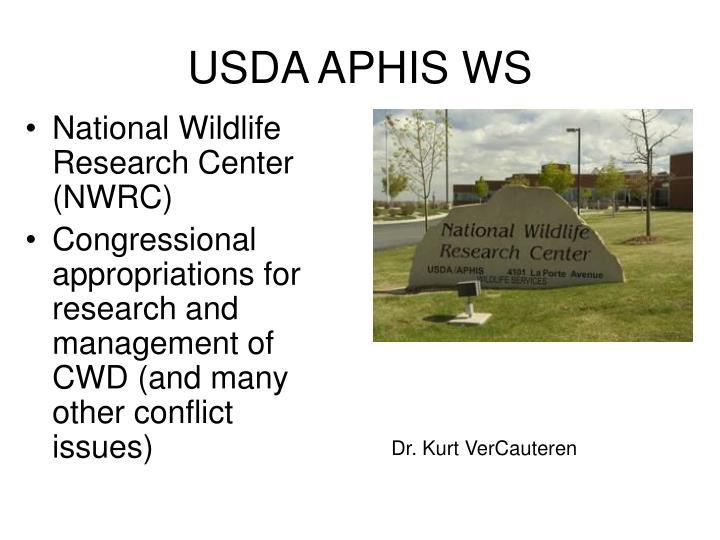 USDA APHIS WS