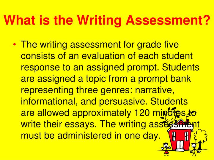 What is the Writing Assessment?