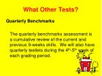 what other tests3