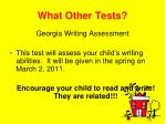 what other tests4