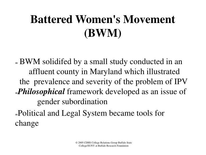 Battered Women's Movement