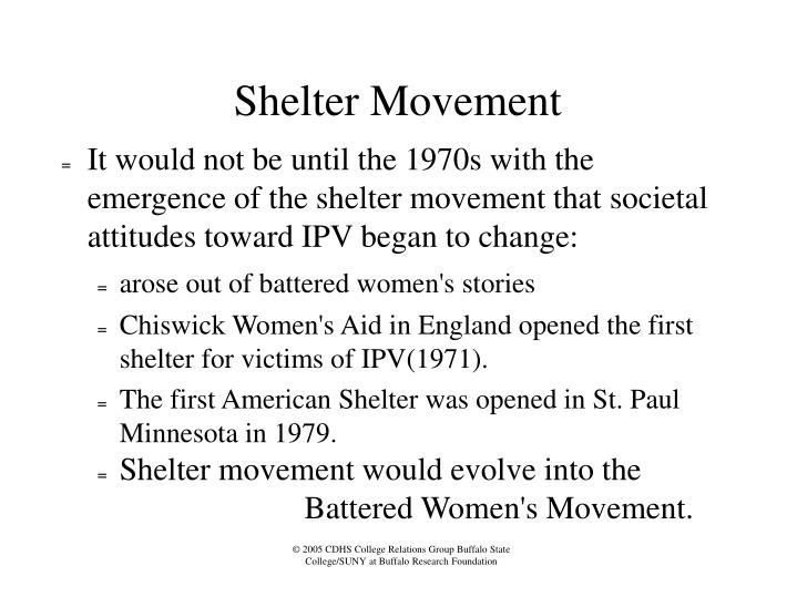 Shelter Movement