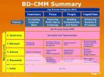 bd cmm summary
