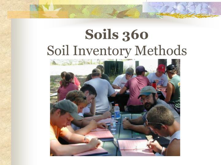 Soils 360