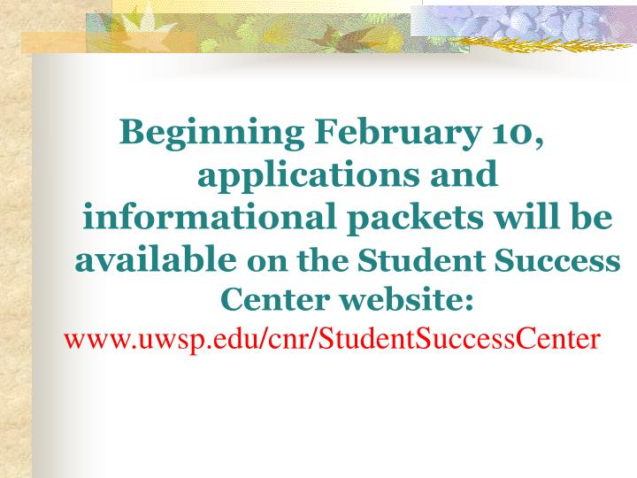 Beginning February