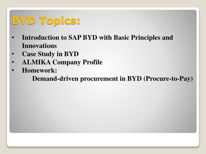 BYD Topics: