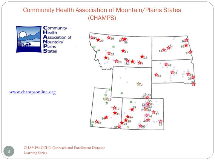 Community Health Association of Mountain/Plains States (CHAMPS)