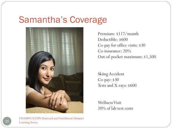 Samantha's Coverage