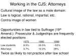 working in the cjs attorneys