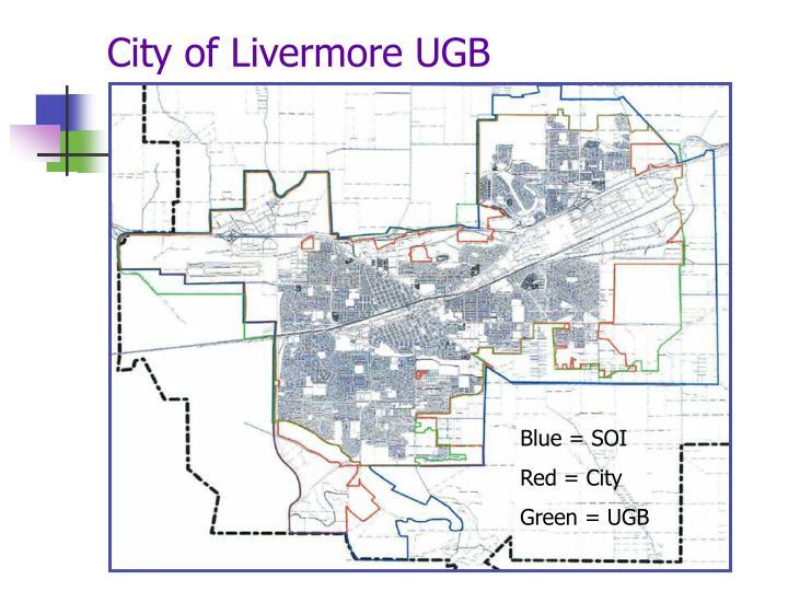 City of Livermore UGB