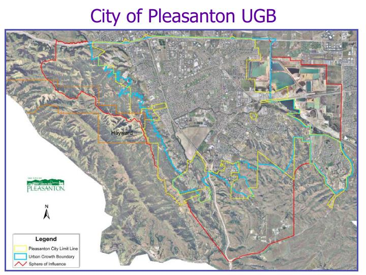 City of Pleasanton UGB