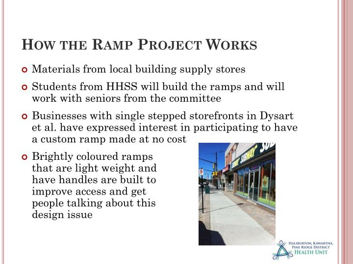How the Ramp Project Works