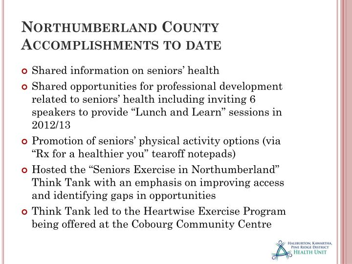 Northumberland County
