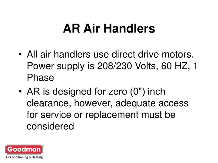 AR Air Handlers