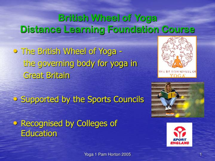 british wheel of yoga distance learning foundation course