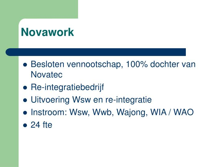 Novawork