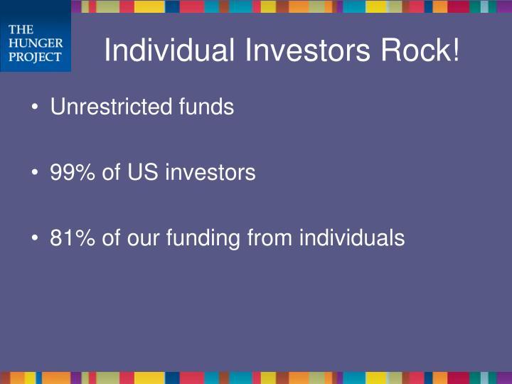 Individual Investors Rock!