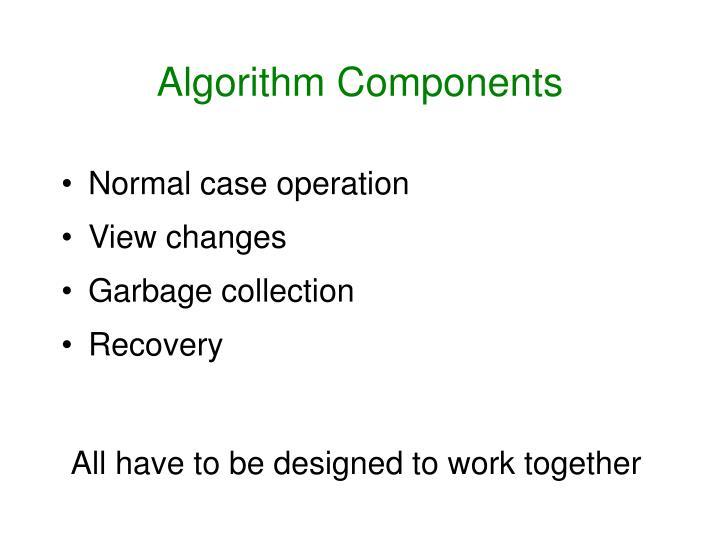 Algorithm Components