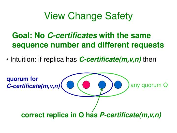 View Change Safety
