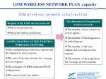 gsm wireless network plan capacity5