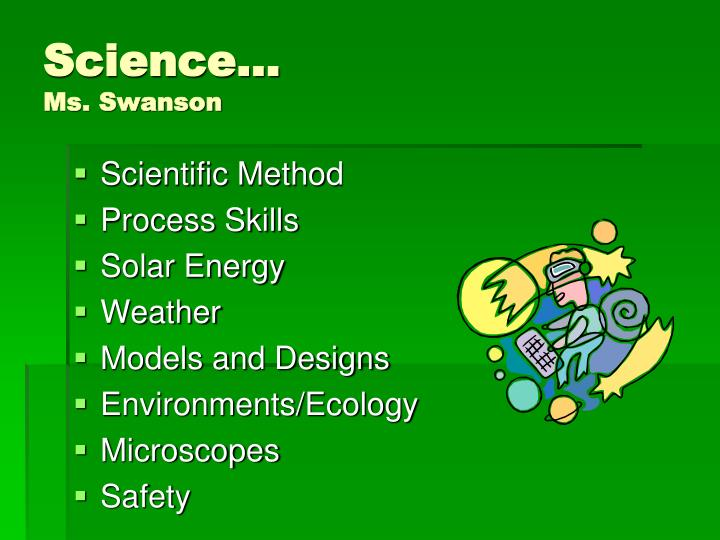Science…