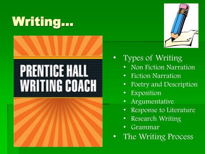 Writing…