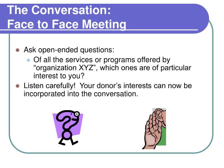 The Conversation: