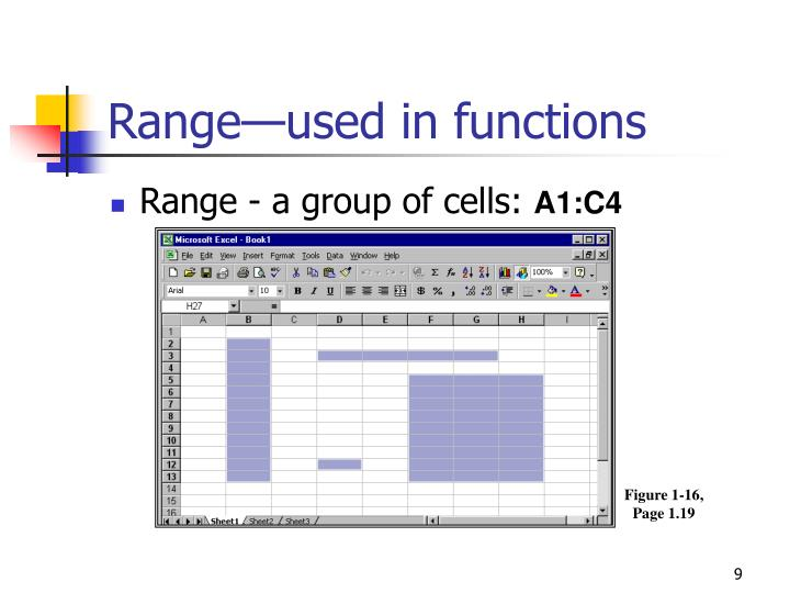 Range—used in functions