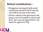 school constitutions