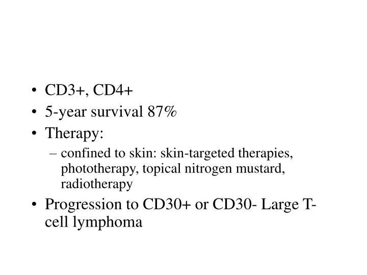 CD3+, CD4+