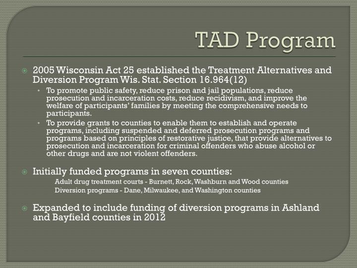 TAD Program