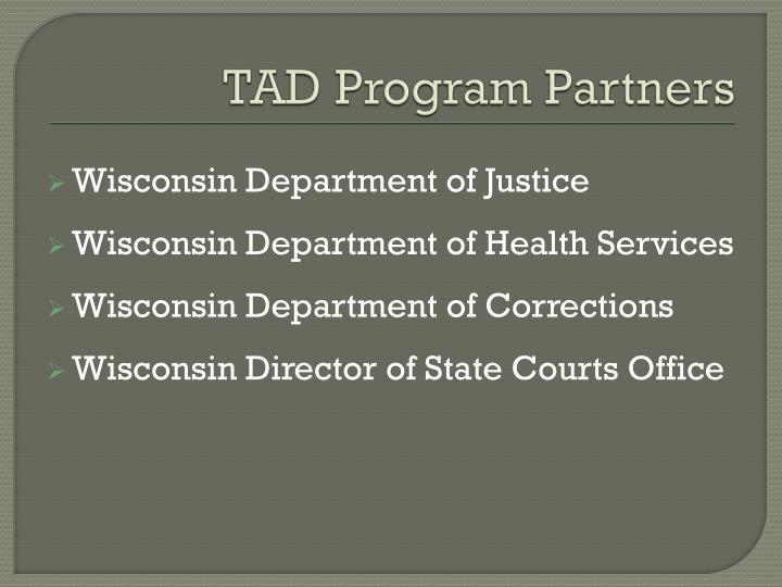 TAD Program Partners