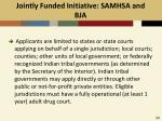 jointly funded initiative samhsa and bja