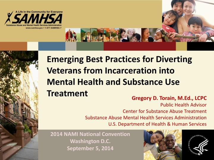Emerging Best Practices for Diverting Veterans from Incarceration into Mental Health and Substance U...